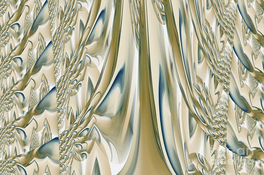 Ballroom Digital Art - Ballroom Gown by Maria Urso