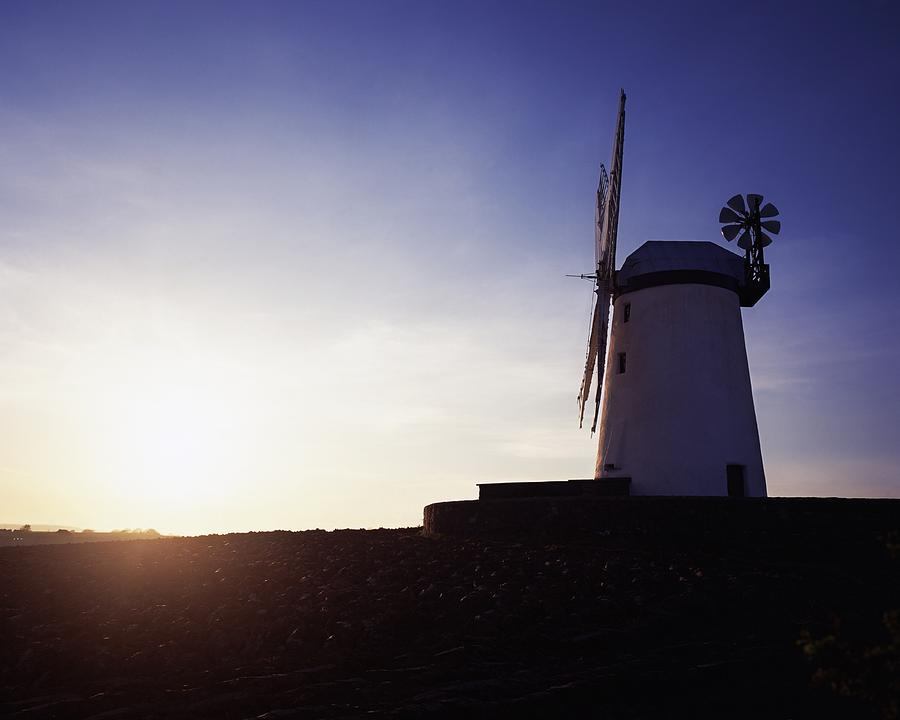 Architecture Photograph - Ballycopeland Windmill, Co. Down by The Irish Image Collection