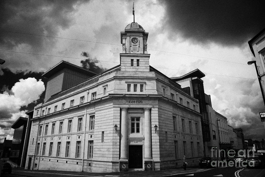 Ballymena Photograph - Ballymena Town Hall Now Part Of The Braid Museum And Arts Complex Ballymena  by Joe Fox