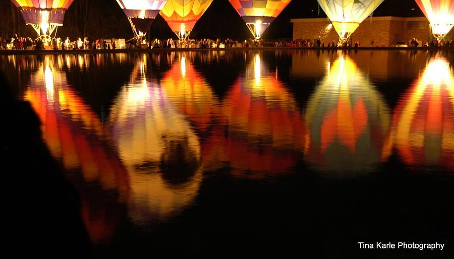 Baloominaria Reflections Photograph by Tina Karle