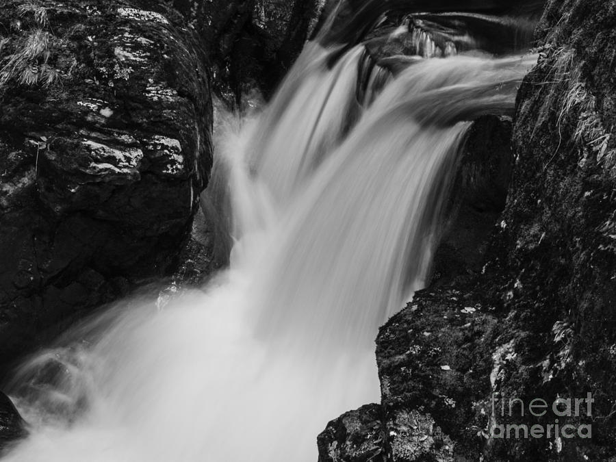 Scotland Photograph - Balquhidder Falls by Michael Canning