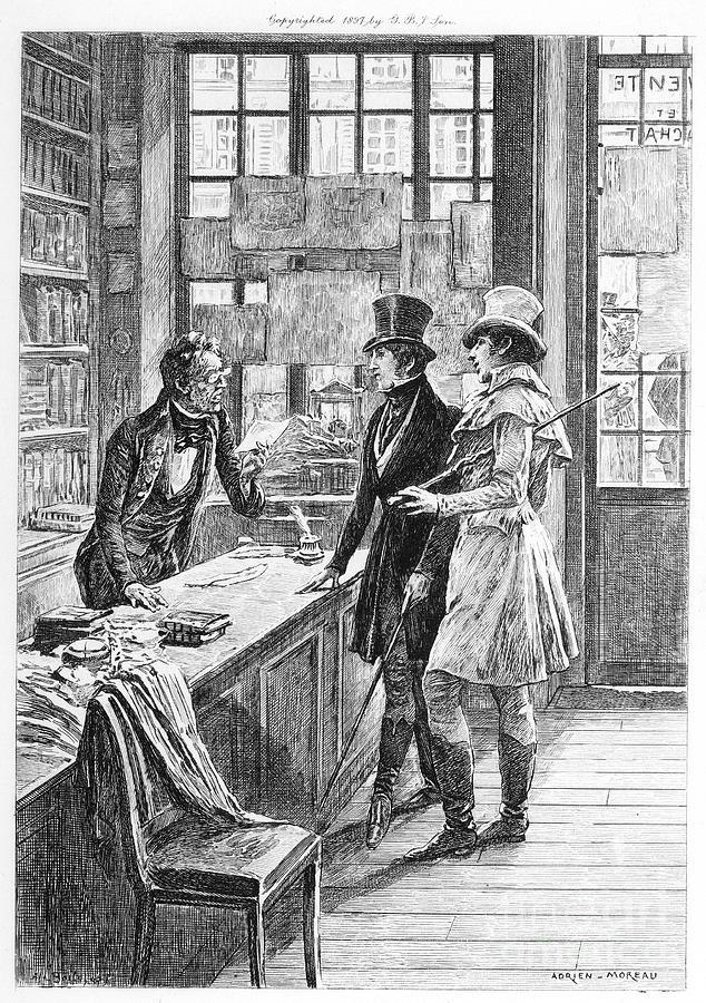 1897 Photograph - Balzac: Illustration by Granger