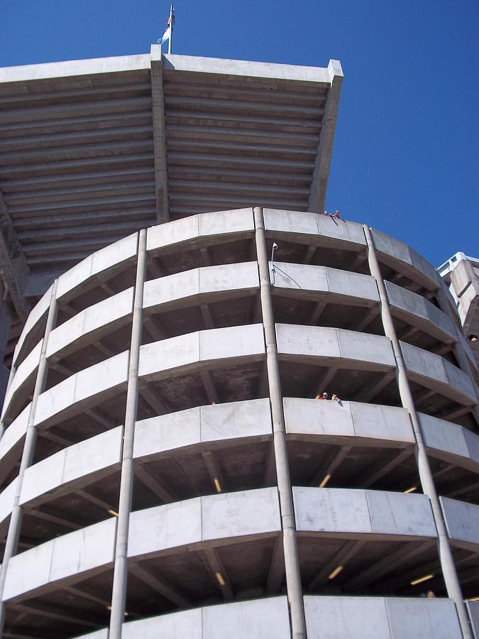 Modern Contemporary Architecture Photograph - Bama Stadium by Victoria Josephine