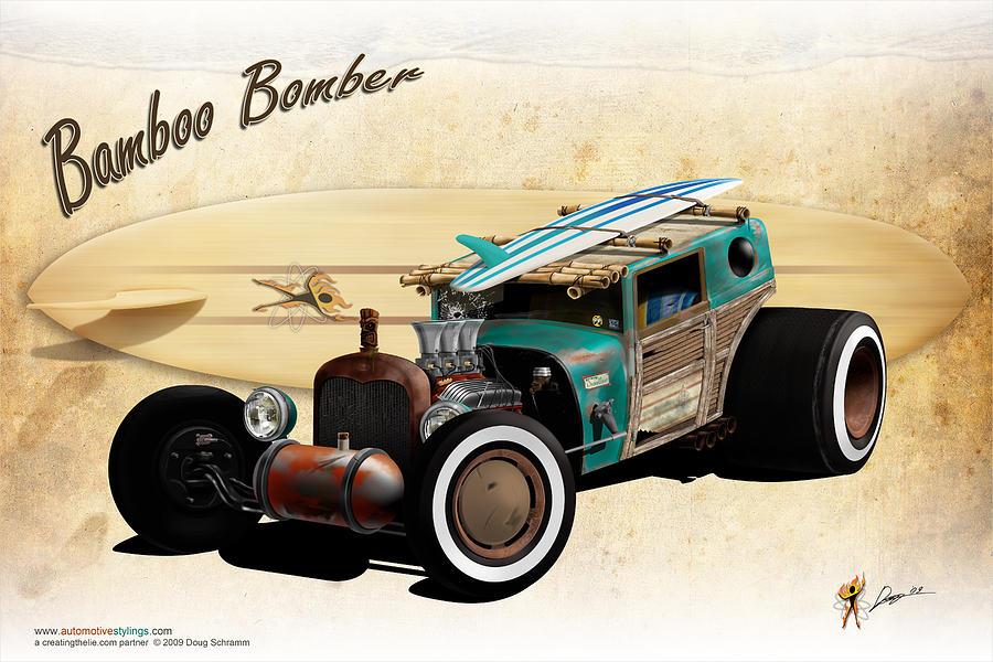 Bamboo Bomber by Doug Schramm