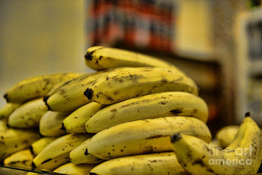 Banana Photograph - Bananas by Paul Ward