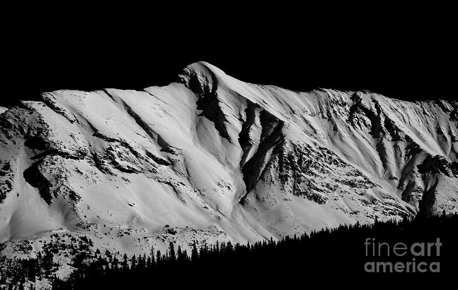 Banff National Park Photograph - Banff National Park Monochrome by Terry Elniski