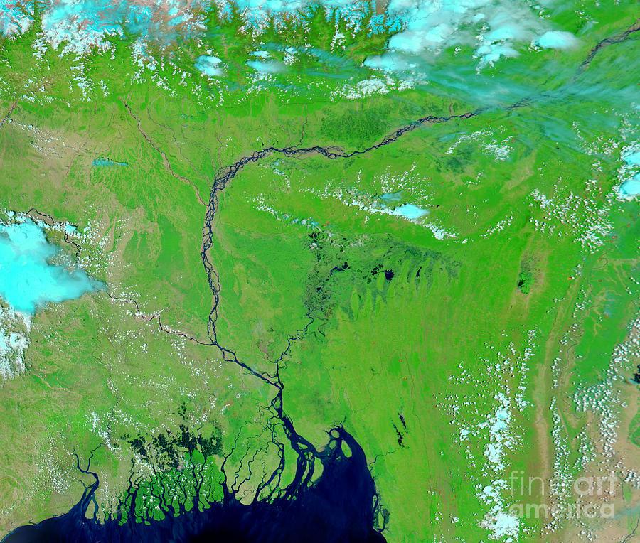 Bangladesh Photograph - Bangladesh by Nasa