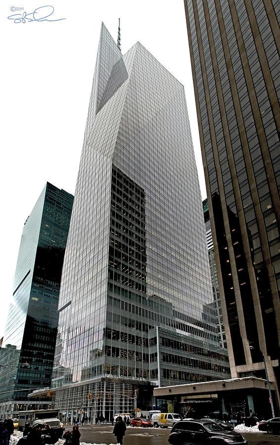 Nyc Photograph - Bank Of America by S Paul Sahm