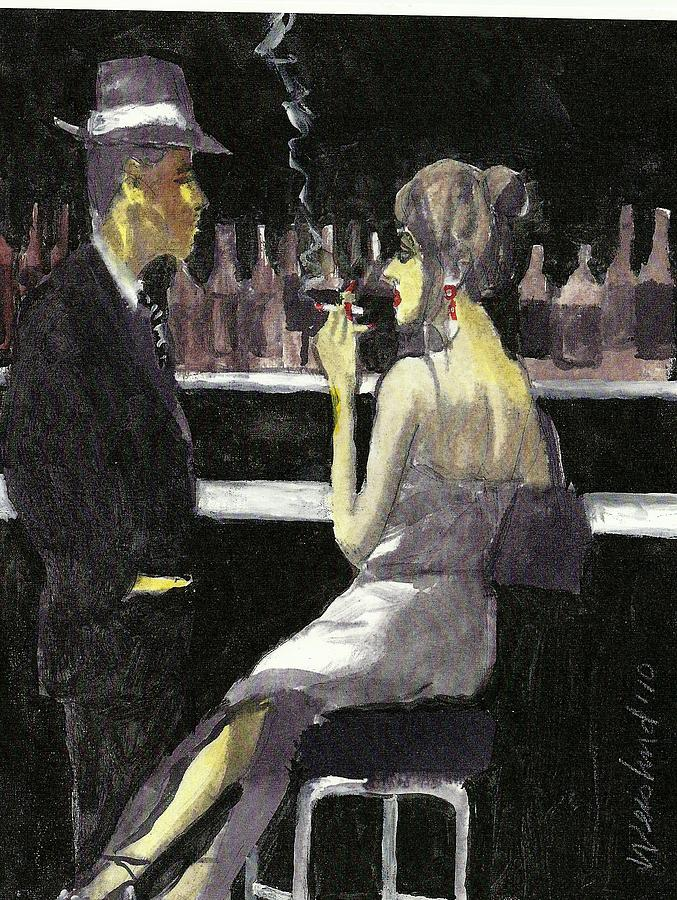 Love Painting - Bar Fly  15 by Harry WEISBURD