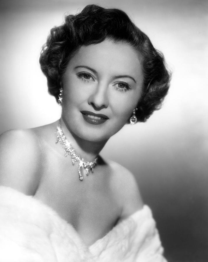 Earrings Photograph - Barbara Stanwyck, 72750 by Everett