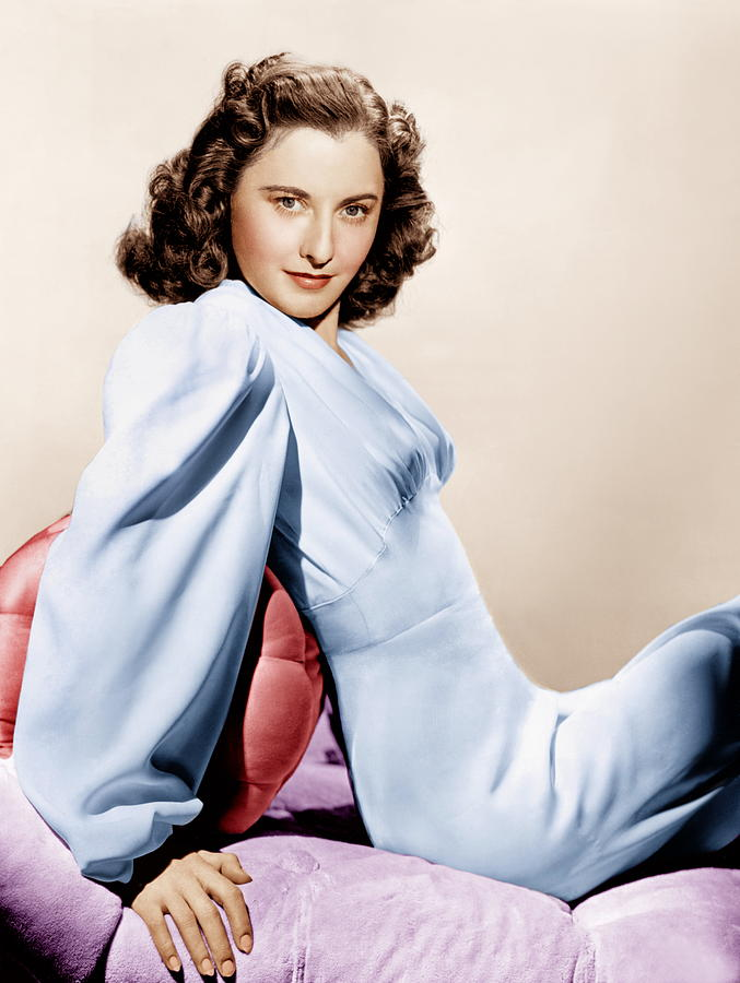1940s Fashion Photograph - Barbara Stanwyck, Ca. 1946 by Everett