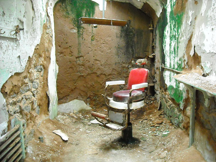 Ennis Photograph - Barbers Cell by Christophe Ennis