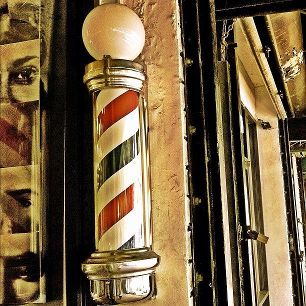 Old Photograph - Barbershop by Joel Lopez
