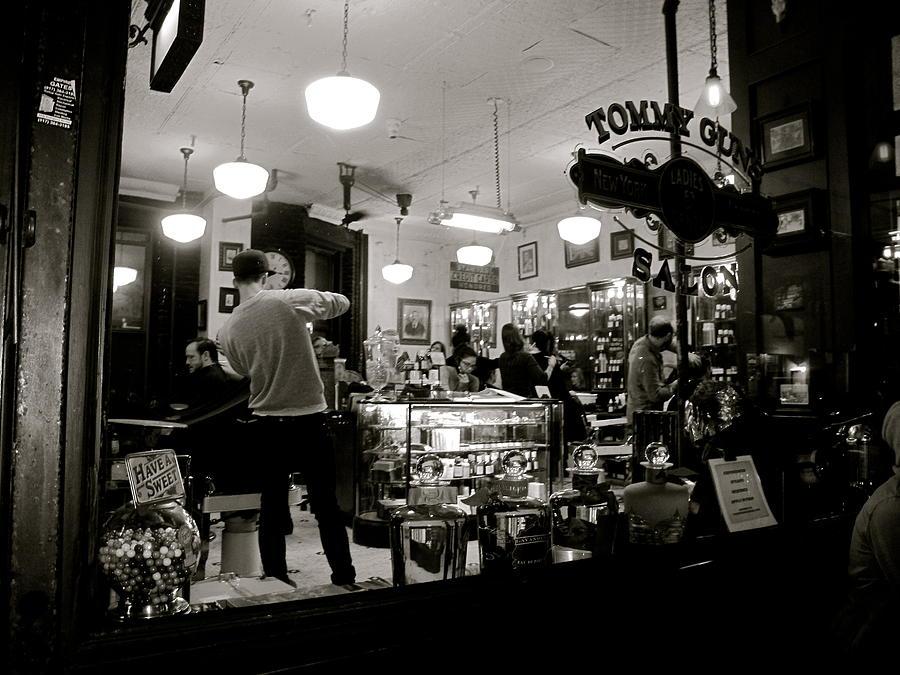 Barbershop N Y C Photograph by Heidi Horowitz