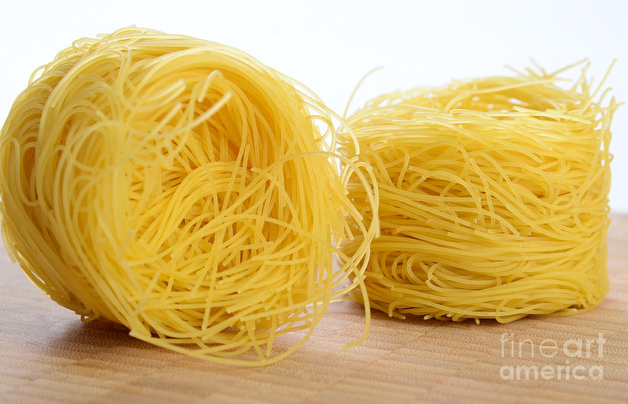 Barbina Pasta Photograph by Photo Researchers, Inc.
