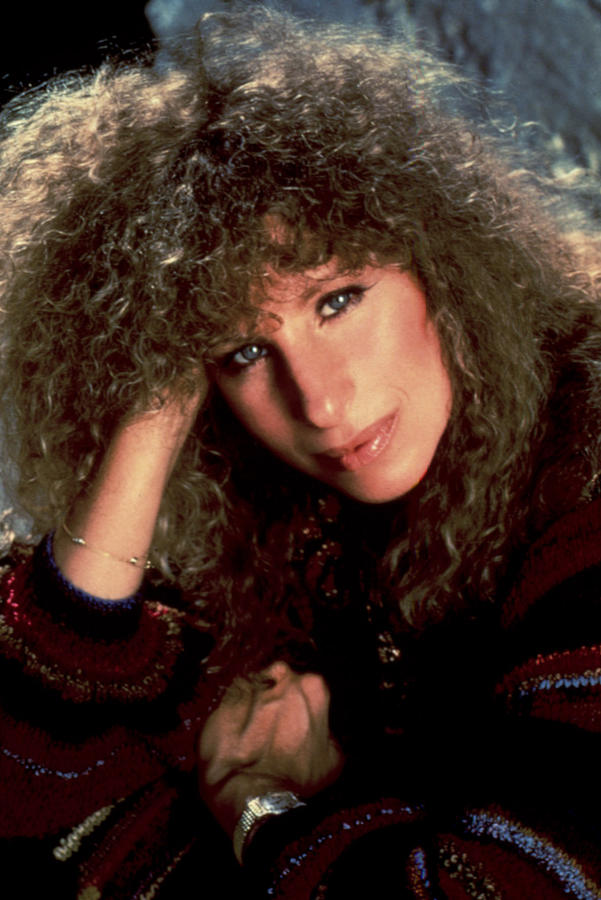 Curly Hair Photograph - Barbra Streisand In Columbia Records by Everett