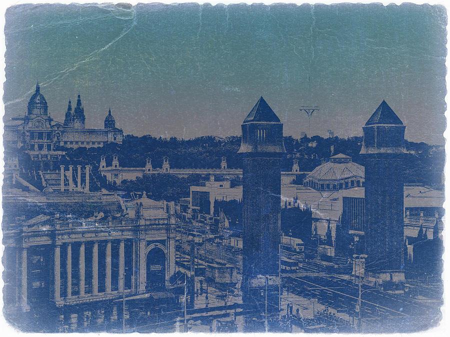 Barcelona Photograph - Barcelona by Naxart Studio