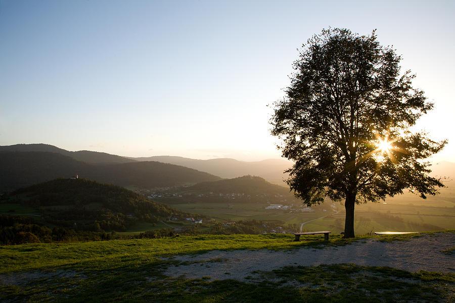 Saint Photograph - Barje View by Ian Middleton