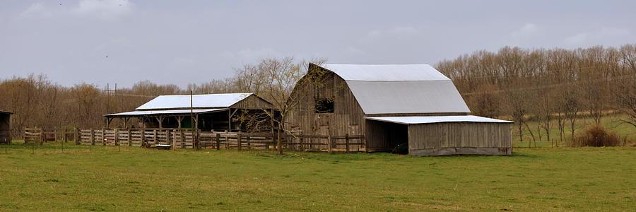 Barn Photograph - Barn In The Ozarks by Marty Koch