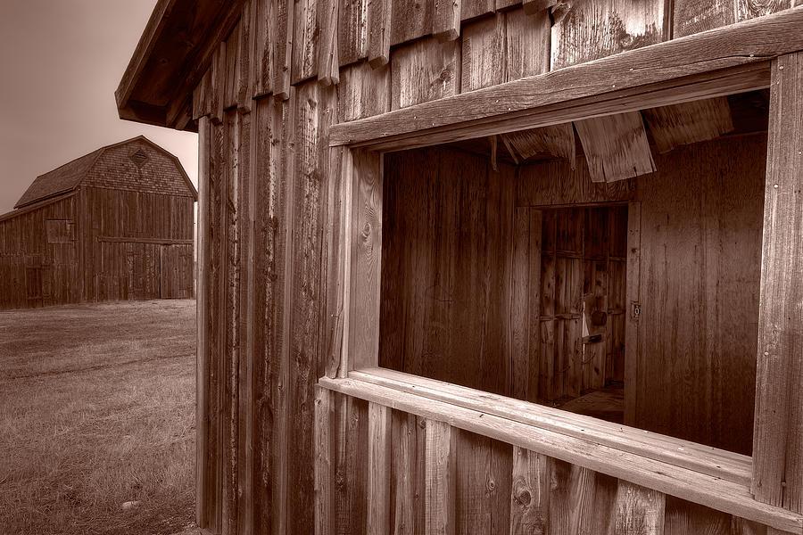 Barn Photograph - Barns Grand Tetons by Steve Gadomski
