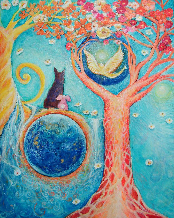 Spiritual Painting - Barons Painting by Ashleigh Dyan Bayer