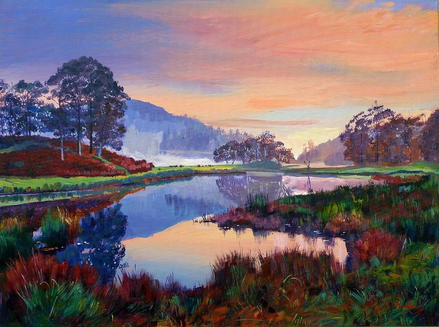 Baroque Dawn Painting By David Lloyd Glover