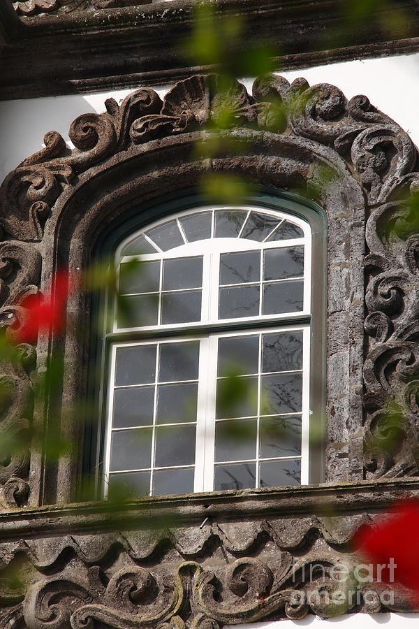 Baroque Photograph - Baroque Style Window by Gaspar Avila
