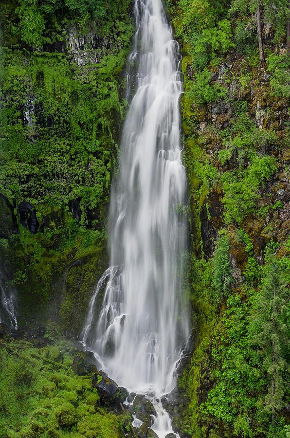 Waterfall Photograph - Barr Creek Falls by Greg Nyquist