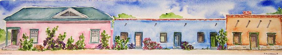 Tucson Painting - Barrio Viejo by Regina Ammerman