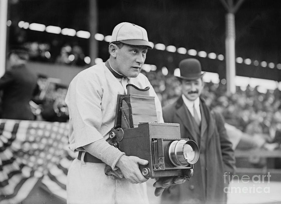 1911 Photograph - Baseball: Camera, C1911 by Granger