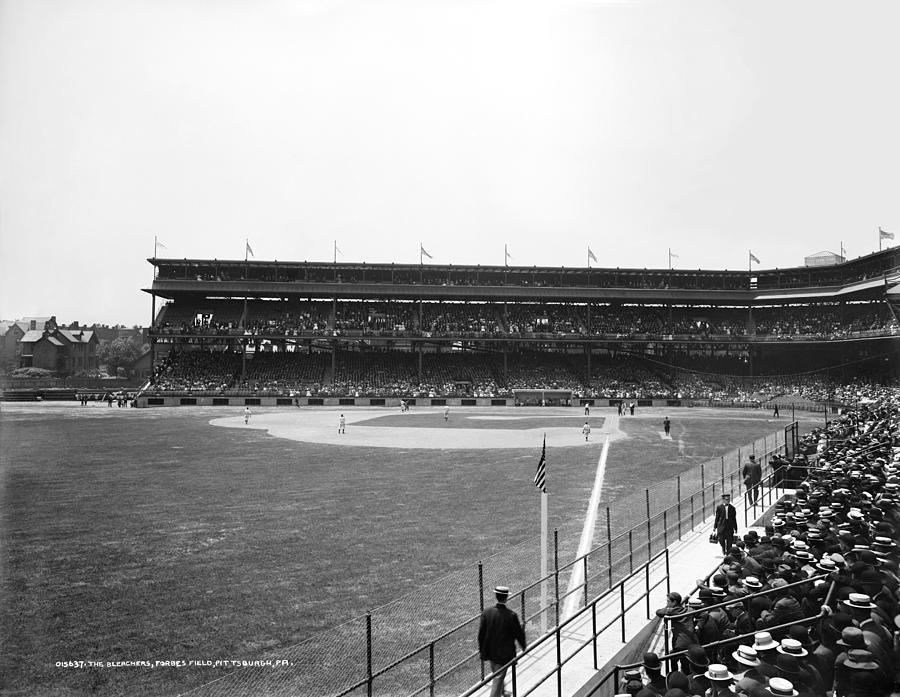 1912 Photograph - Baseball Game, C1912 by Granger