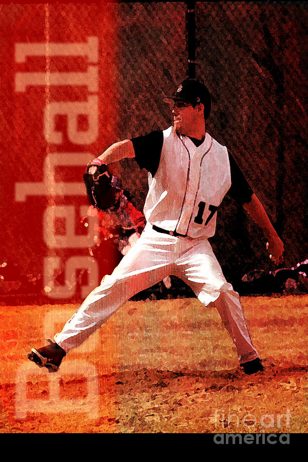 Baseball Mixed Media by John Turek
