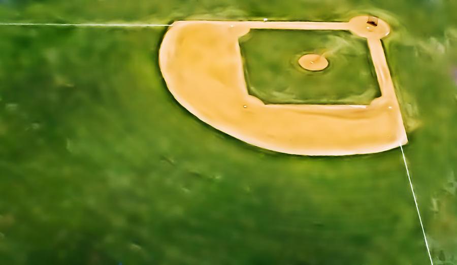 Baseball Photograph - Baseball by Patrick M Lynch