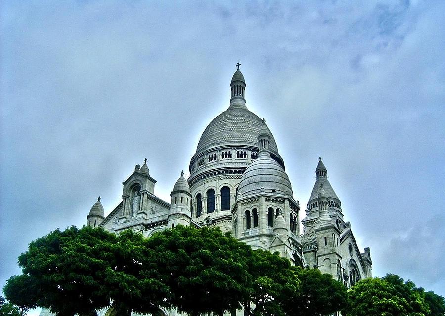 Basilique du Sacre-Coeur - Paris  by Juergen Weiss