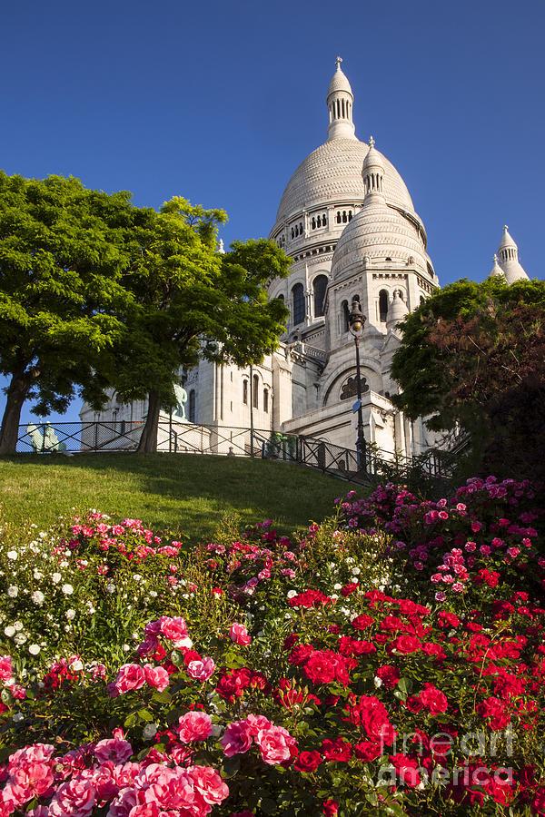 Architectural Photograph - Basilique Du Sacre Coeur by Brian Jannsen
