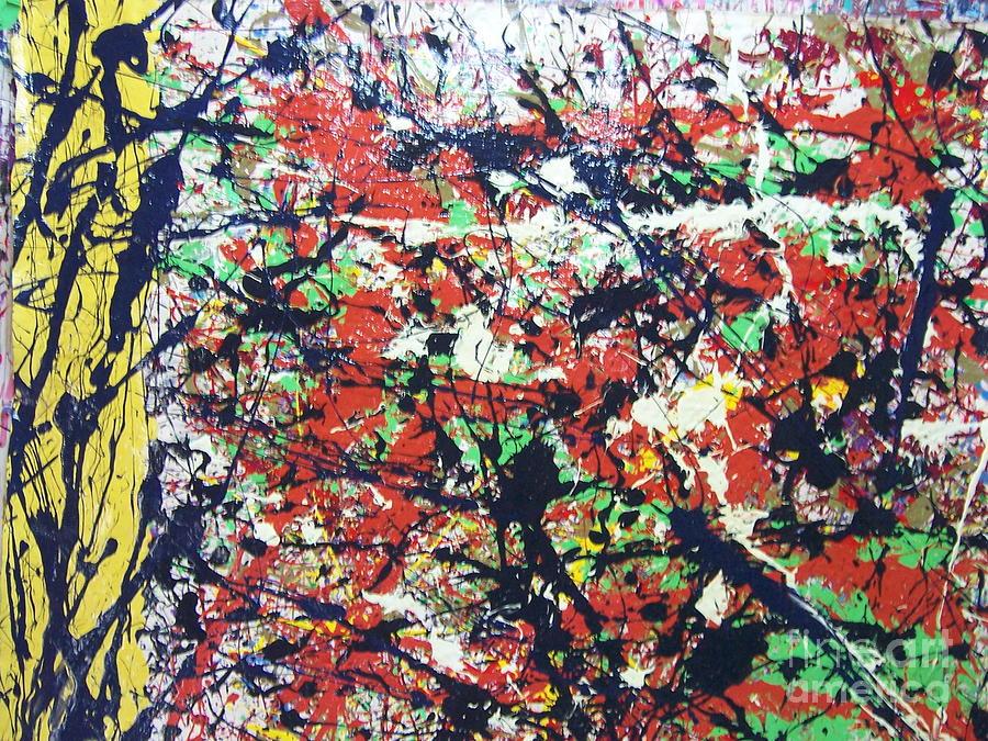 Basin Street Bluescape Painting by Meroe Rei
