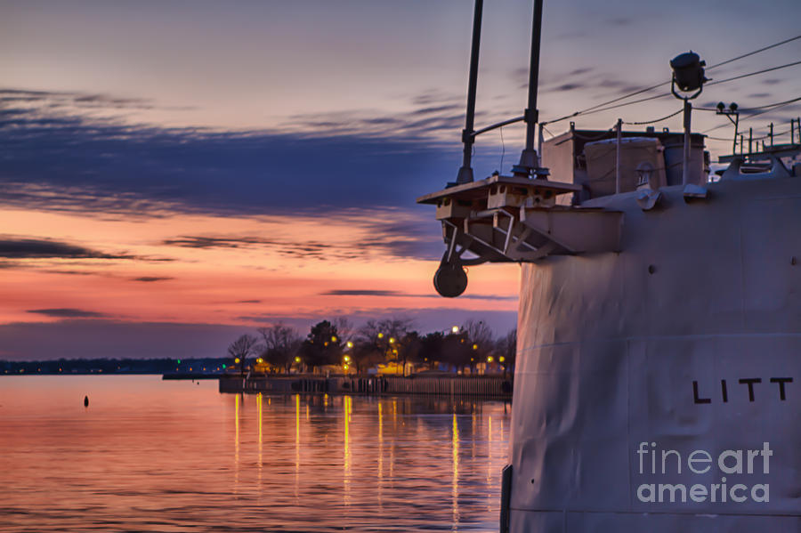 Naval Vessels Photograph - Basking by Chuck Alaimo
