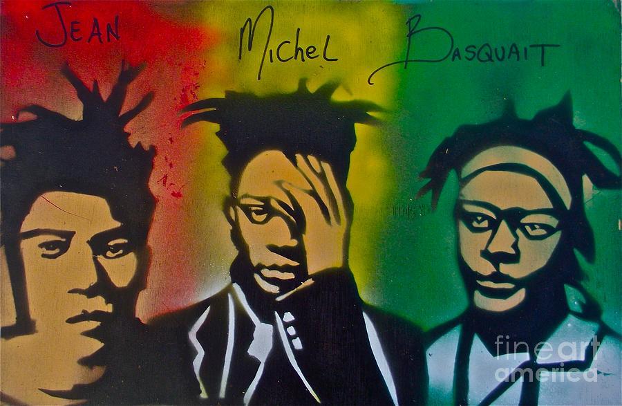 Oppression Painting - Basquait Me Myself And I by Tony B Conscious