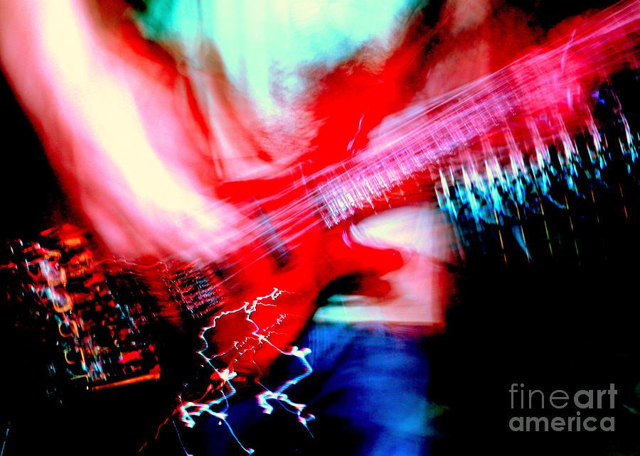 Rock'n Roll Digital Art - Bass Guitar 1 by Jason D Rogers