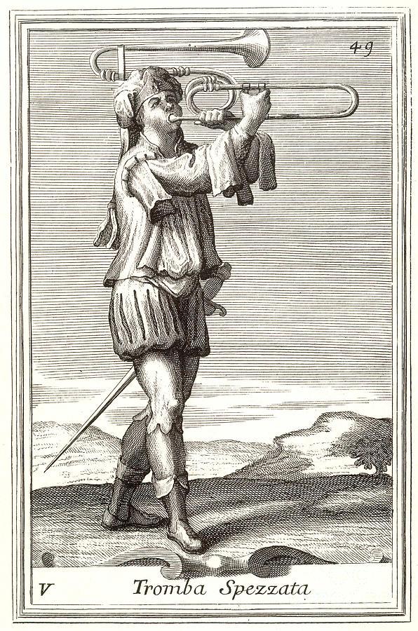 Arnold Photograph - Bass Trombone, 1723 by Granger