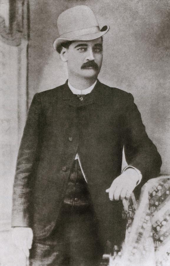 History Photograph - Bat Masterson 1853-1921, Sheriff by Everett