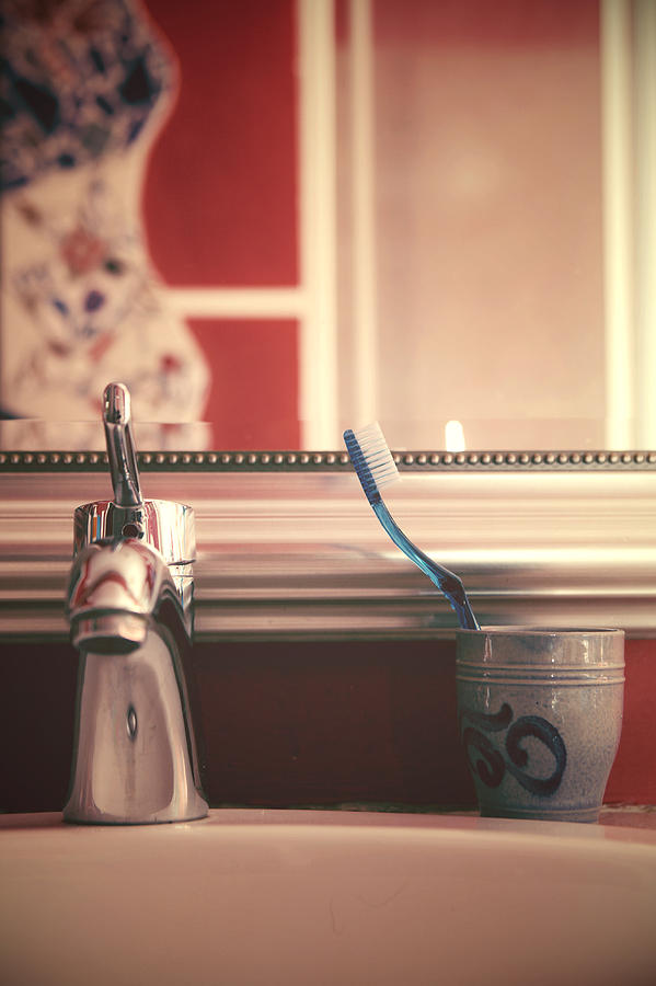 Sink Photograph - Bathroom by Joana Kruse