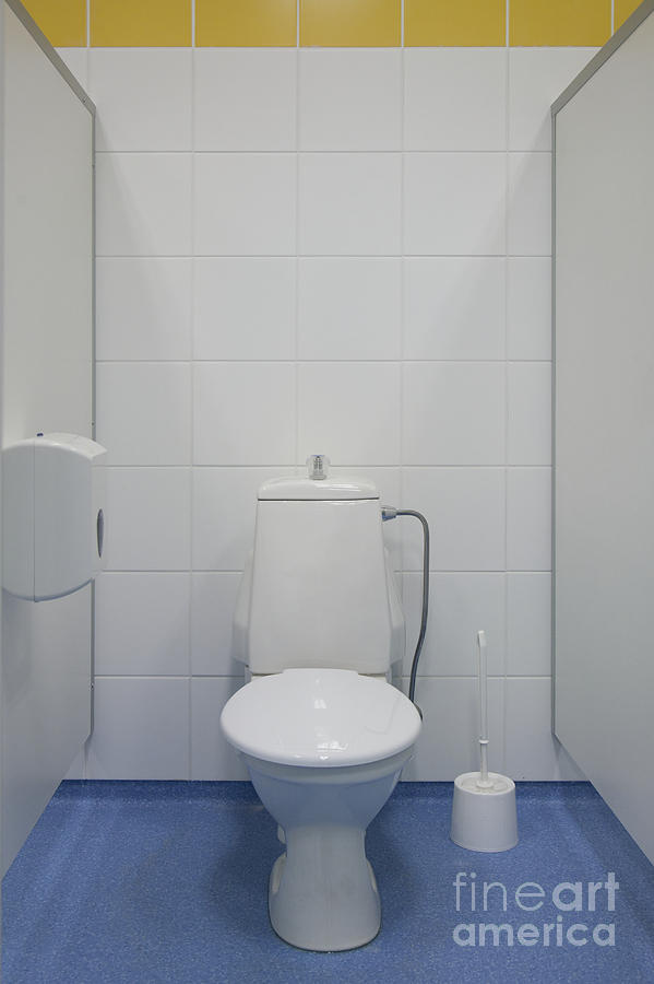 Architectural Detail Photograph   Bathroom Stall By Jaak Nilson