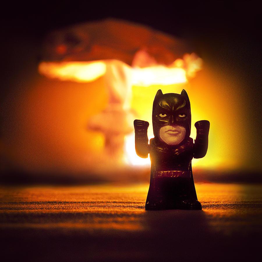 Boom Photograph - Batman by Daria Curvehand
