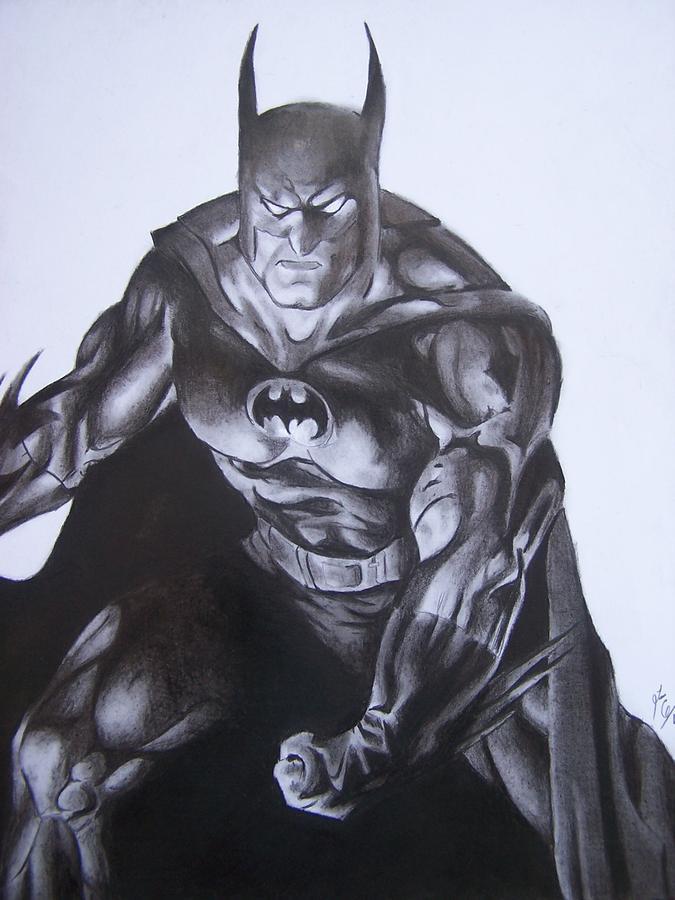 Batman Drawing By Luis Carlos A