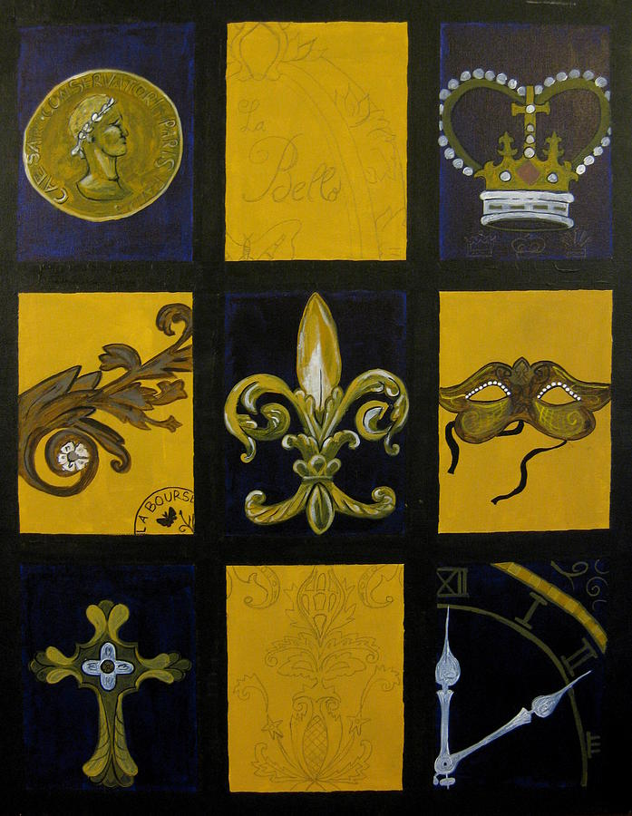 French Painting - Baton Rouge by Angela Jensen
