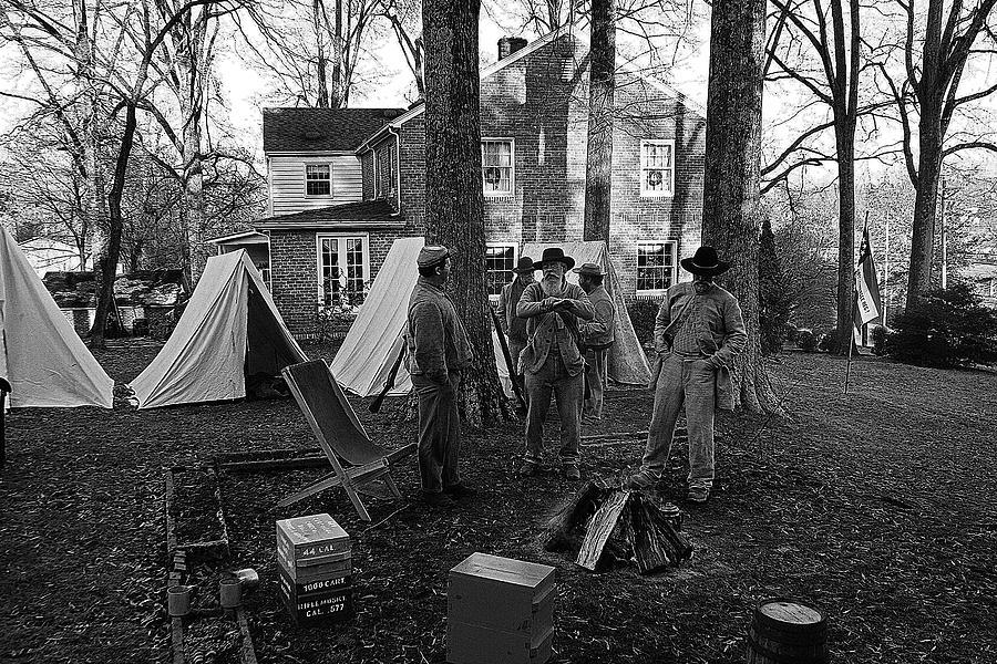 Civil War Photograph - Battle Done by Paul Mashburn