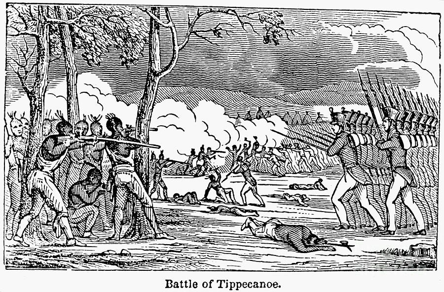 1811 Photograph - Battle Of Tippecanoe by Granger