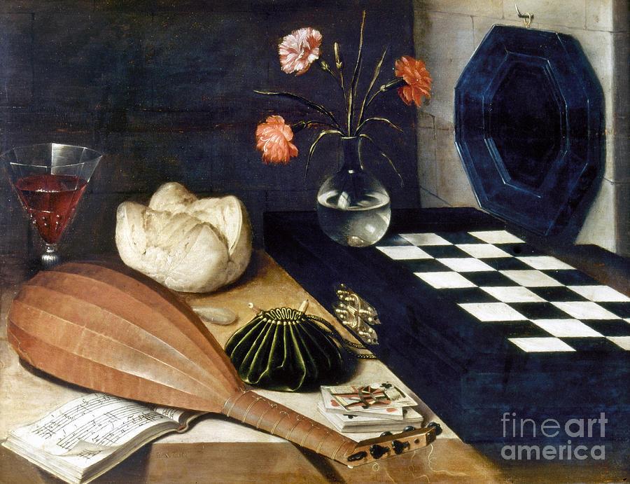 Baroque Photograph - Baugin: Still Life by Granger
