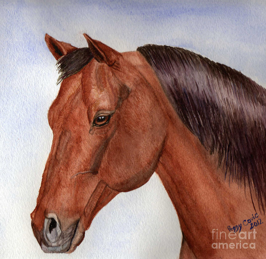 Famous Horse Head Painting
